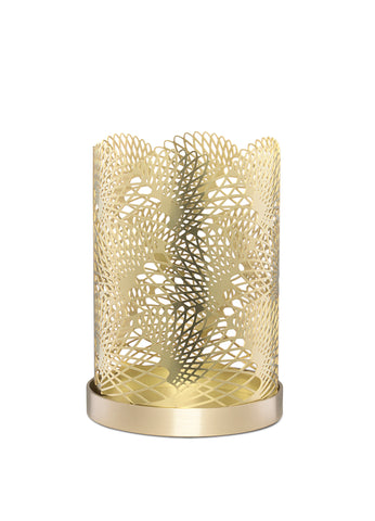 Skultuna Small Celestial Candle Holder in Brass