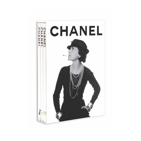 Chanel: Fashion, Jewelry, Perfume Boxed Set of 3 Books