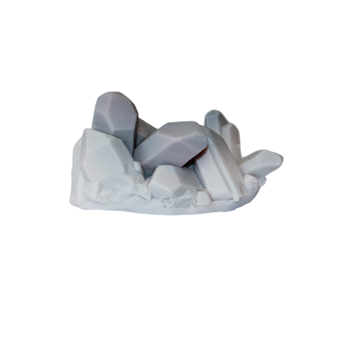 1901co Howlite Quartz Soap