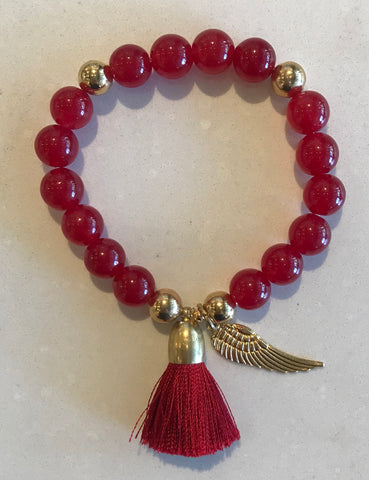Sunny Somewhere Bracelet - Large Red