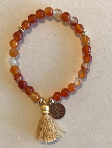 Sunny Somewhere Bracelet - Small Orange