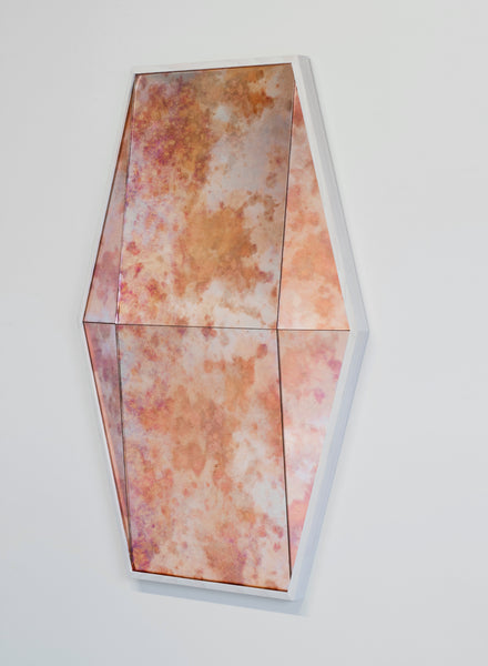 Robert Sukrachand Antique Pink Gem Mirror