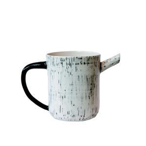 BTW Ceramics White Mist Pitcher