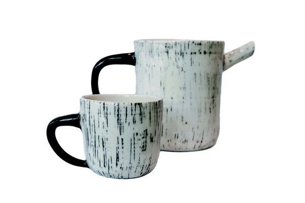 BTW Ceramics White Mist Mug