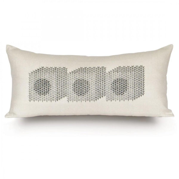 "Rouge du Rhin ""Cubes"" Pillow"
