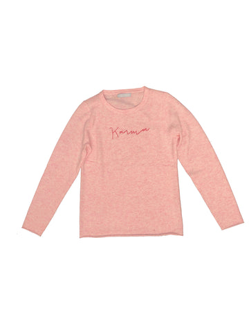 Karma Hand-Stitched Women's Sweater