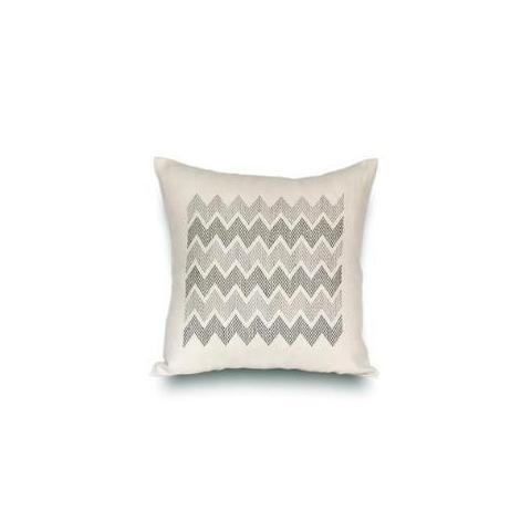 "Rouge du Rhin ""Zig-Zag"" Pillow"