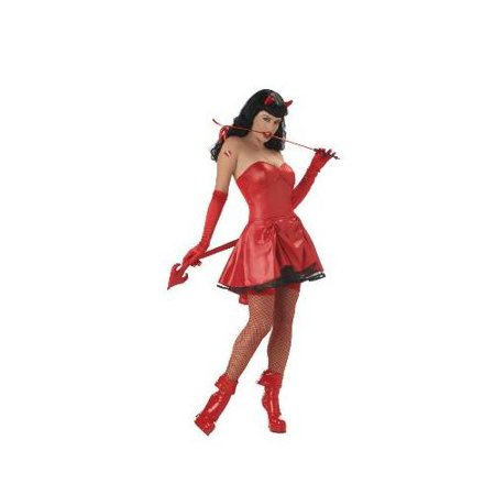 Bettie Page Don't Tread On Me Adult Costume