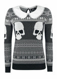 CHRISTMAS GIRLY SWEATER☠ iRON FIST