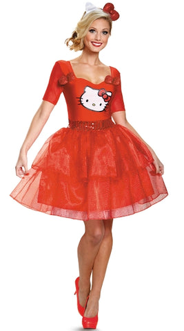 Ms. Hello Kitty  costume Red