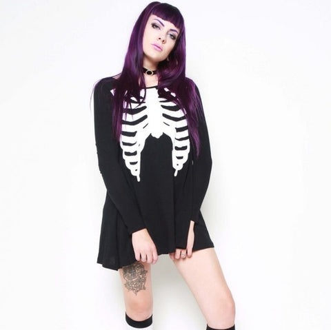 WISHBONE ☠ TRAPEZE DRESS FROM IRON FIST