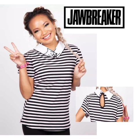 Bae Cat Collar Top 😼 by Jawbreaker
