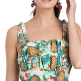 Kirsty Tropical Playsuit Voodoo Vixen