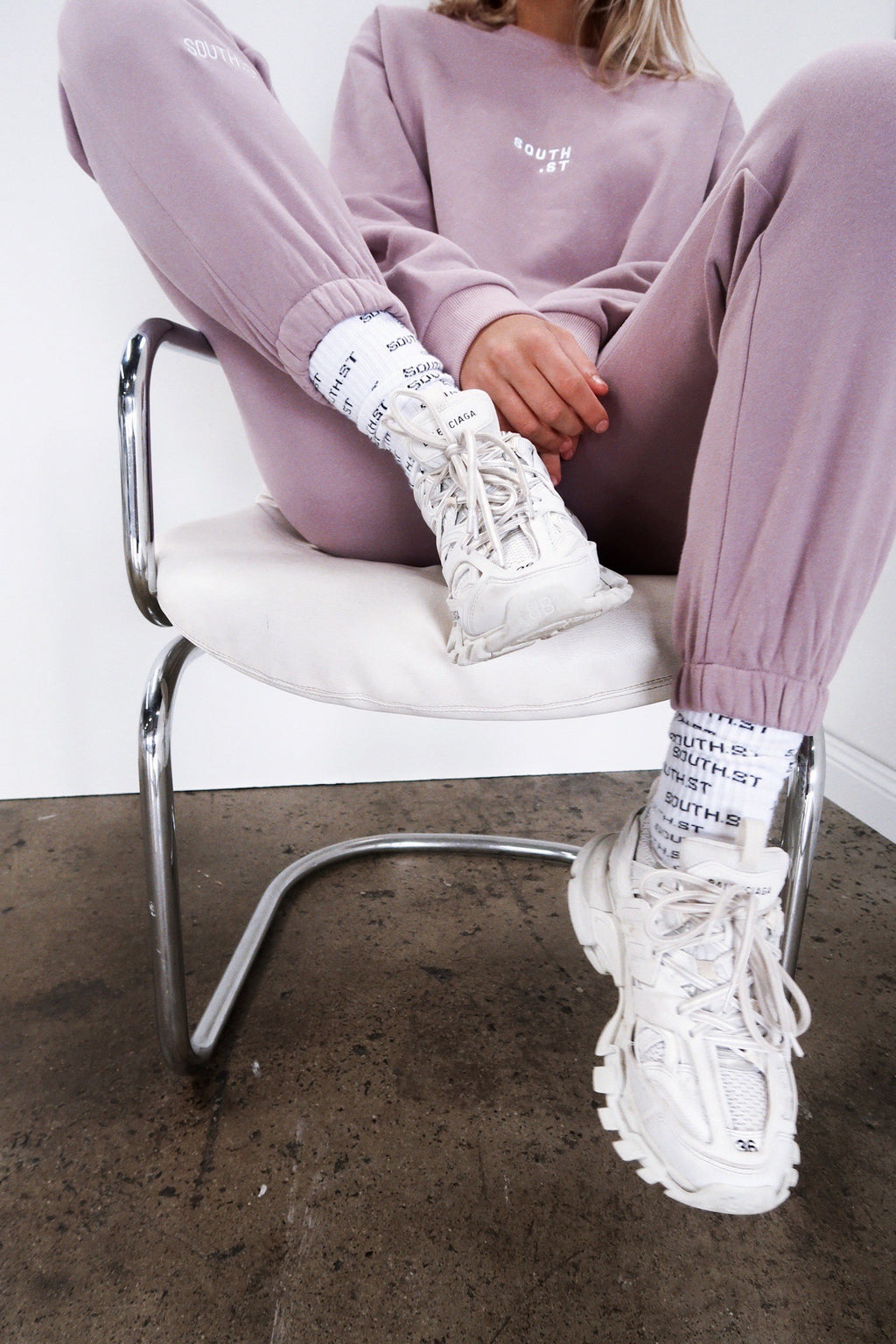"""FIELD"" SWEATPANTS - Lilac"