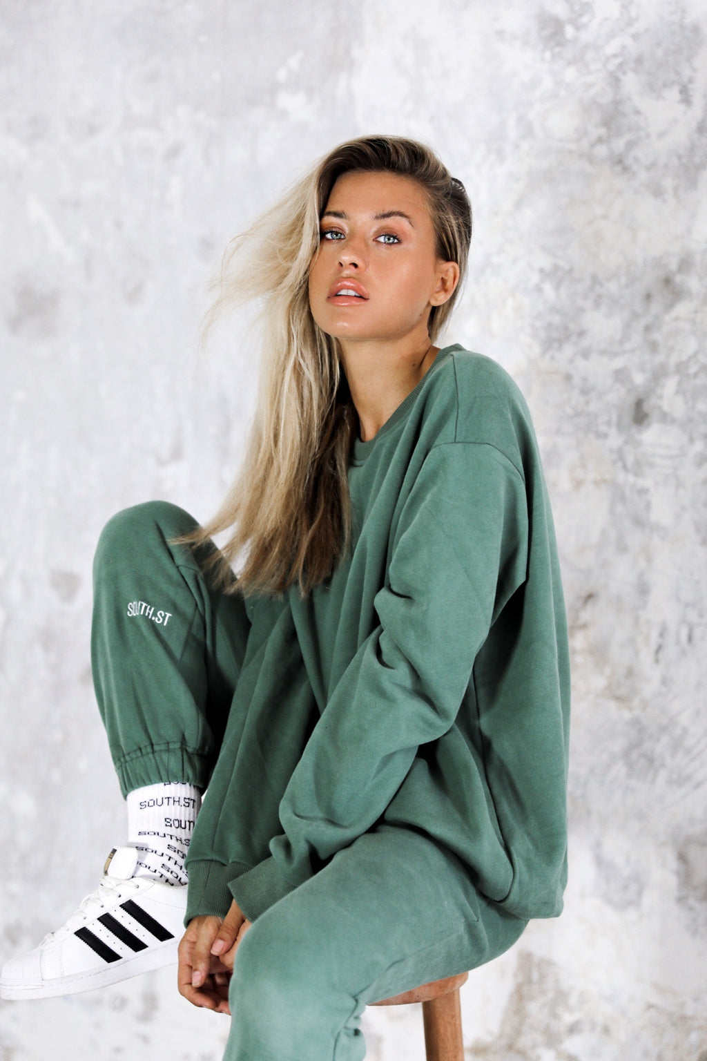 """FIELD"" SWEATSHIRT - Green"