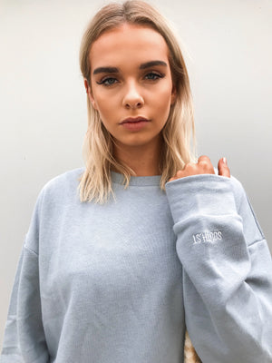 """BOYFRIEND"" SWEATSHIRT - Blue"