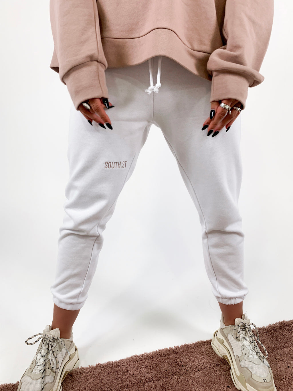 """SNOW"" SWEATPANTS"