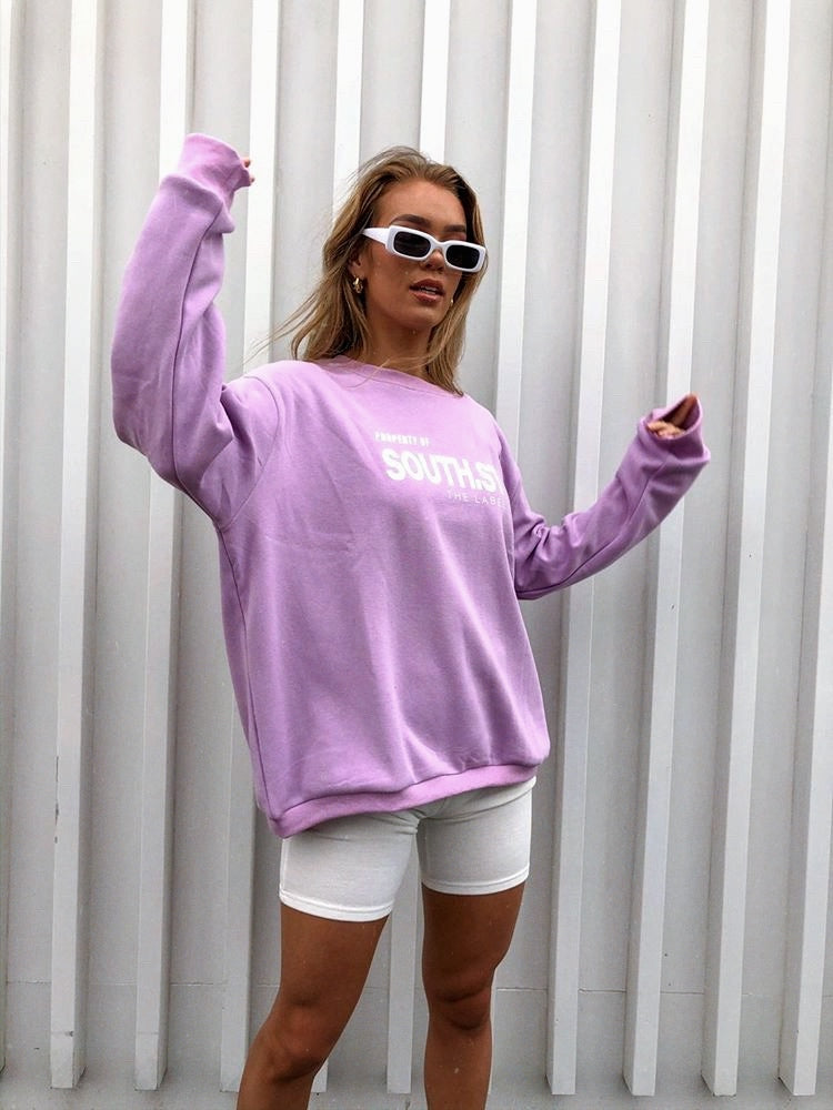 """PROPERTY"" Sweater - Lilac"