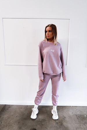"""FIELD"" SWEATSHIRT - Lilac"