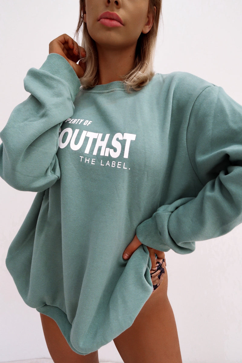 """PROPERTY"" Sweater - Green"