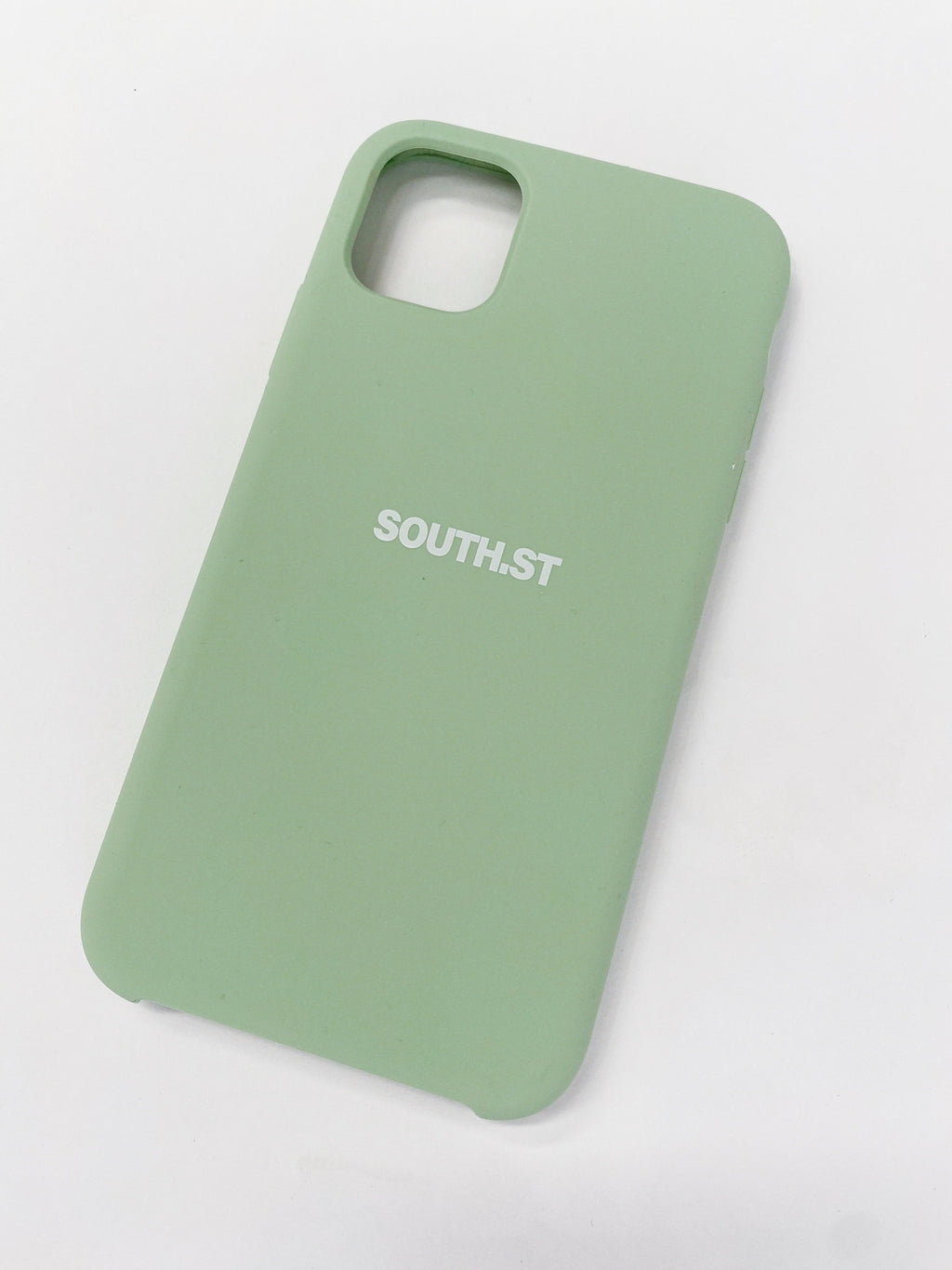 """LOGO"" iPHONE CASE - Pastel green"