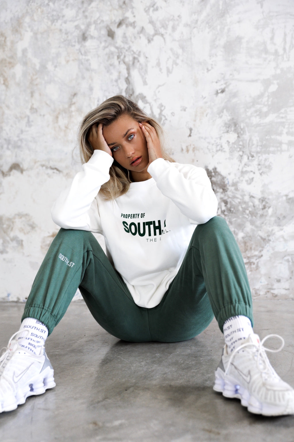"""FIELD"" SWEATPANTS - Green"