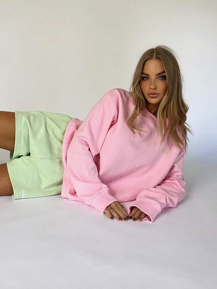 """CAMILLE"" SHORTS - Pastel green"