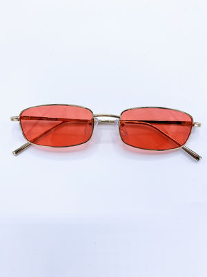 """BURNT"" SUNGLASSES"