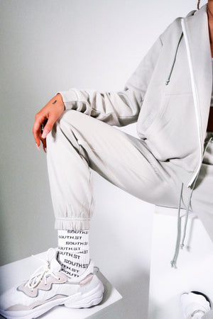 """BALANCE"" SWEATPANTS - Green/grey"