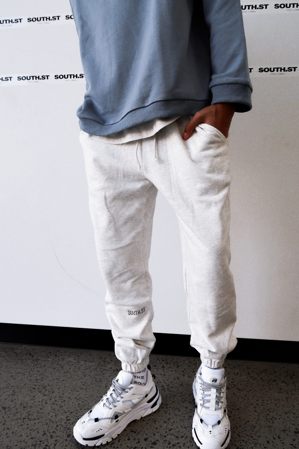 """ORIGINAL"" SWEATPANTS - Marl grey"