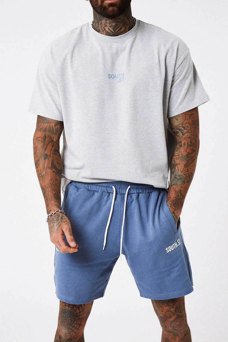 """LOUNGE"" SHORTS - Blue"