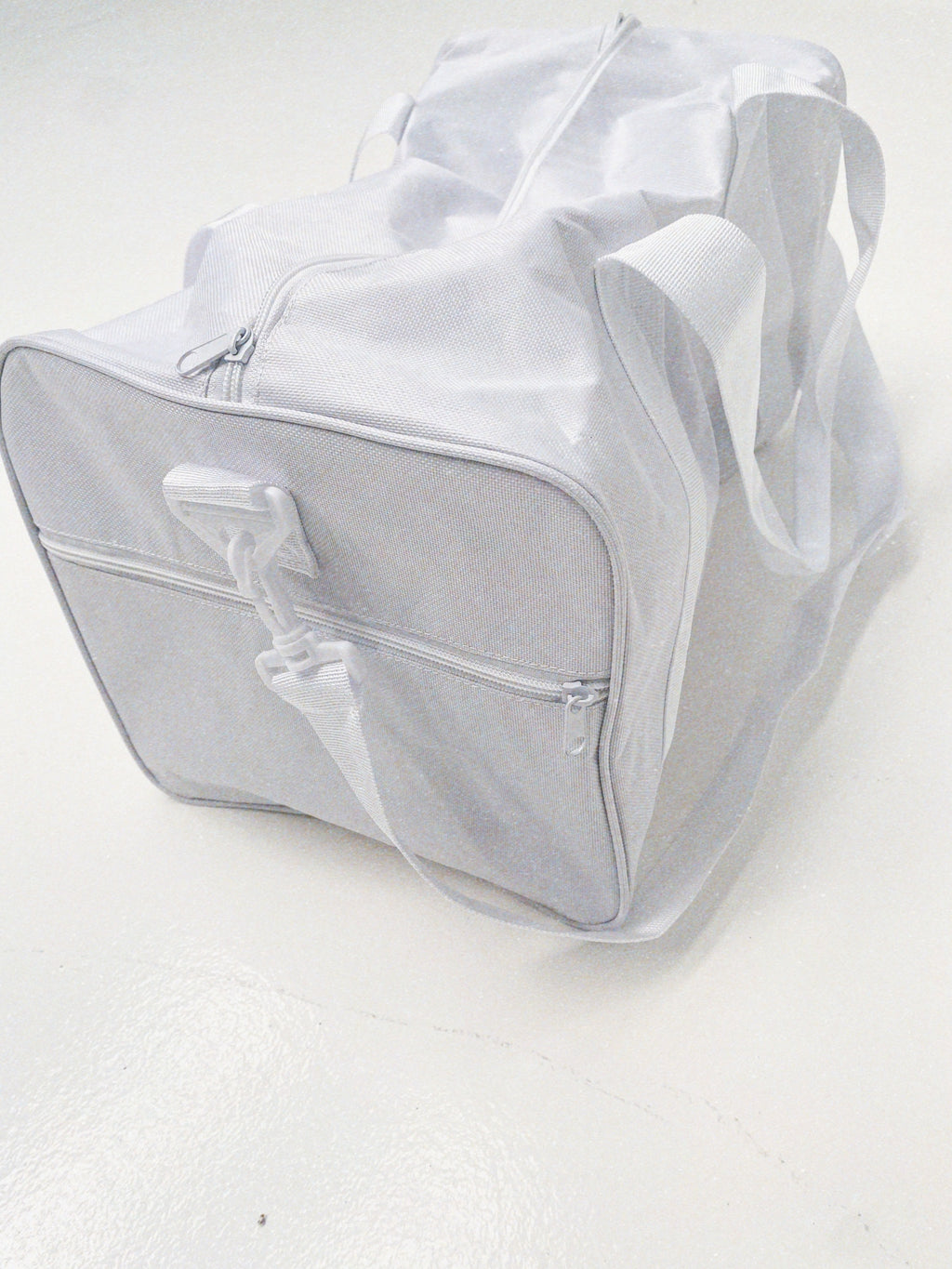 """OVERNIGHT"" BAG - White"