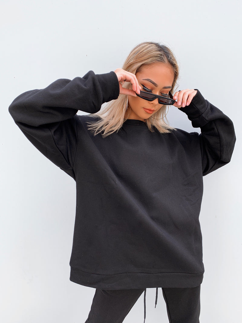 """BOYFRIEND"" SWEATSHIRT - Black"