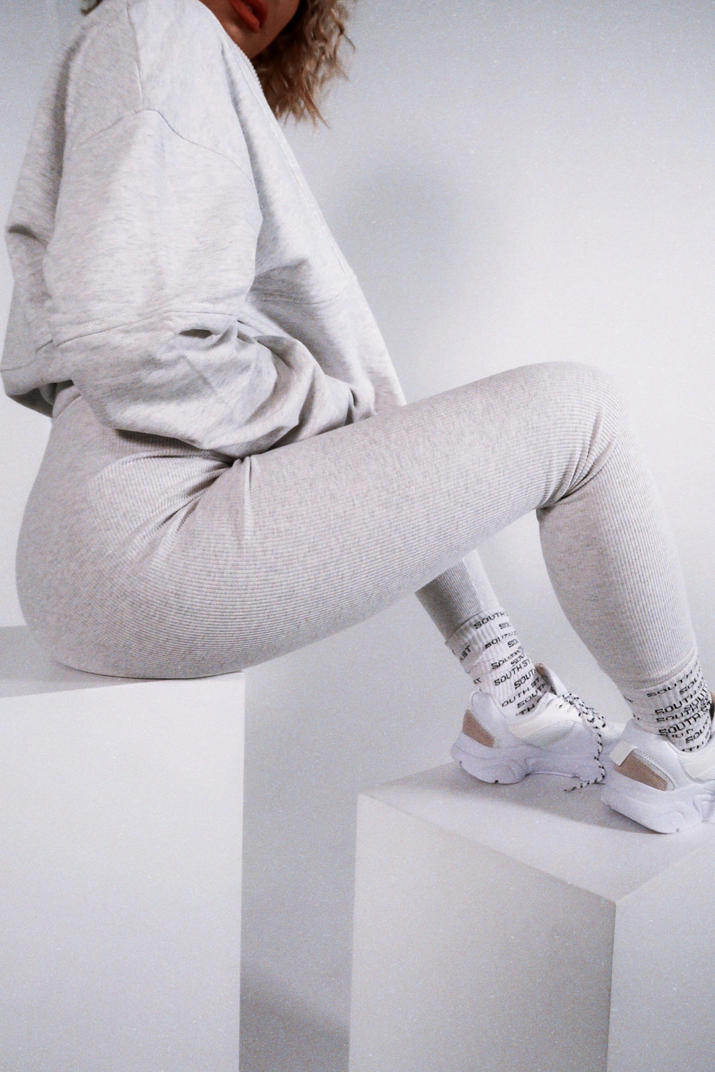 """5PM"" Leggings - Grey"