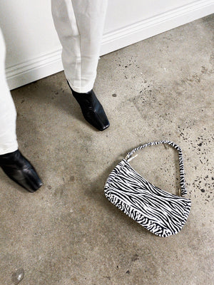 """SAHARA"" BAG - Zebra"