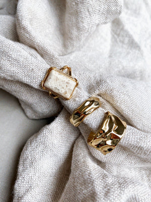 """MARBLE"" RING"