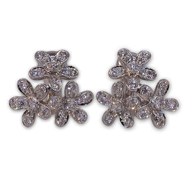 "Van Cleef ""Socrate"" Diamond Earrings"