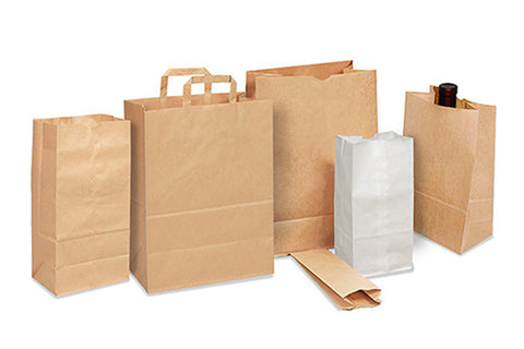 Assortment of Paper Bags
