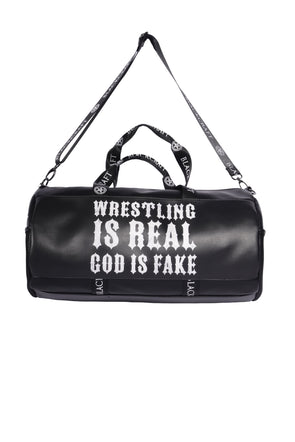 Wrestling is Real x Large Duffel Bag