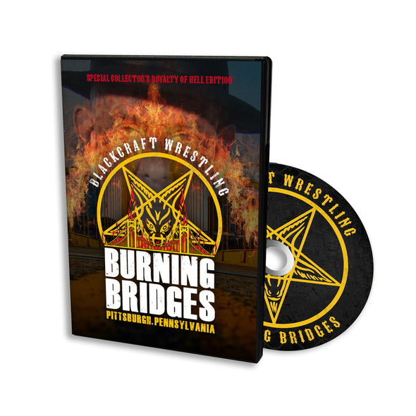Burning Bridges 2018 DVD