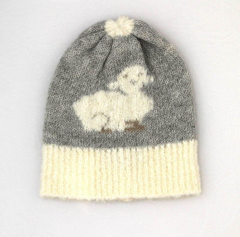 Brushed Alpaca Lamb Beanie