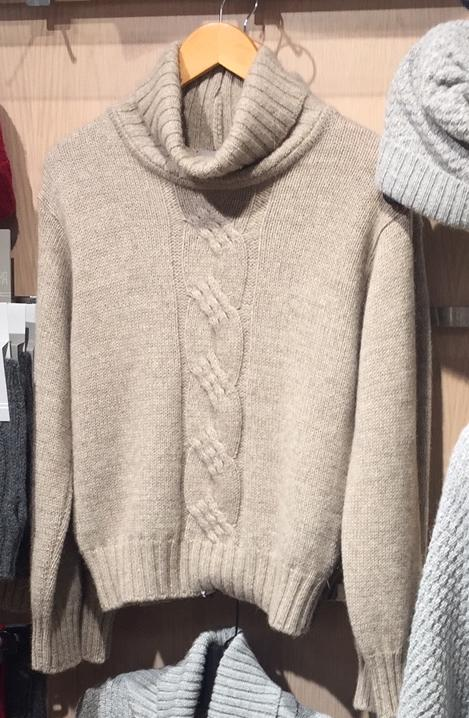 Alpaca Possum Cable Sweater - Kapeka NZ
