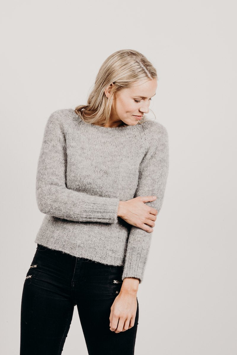 Alpaca Brushed Sweater - Kapeka