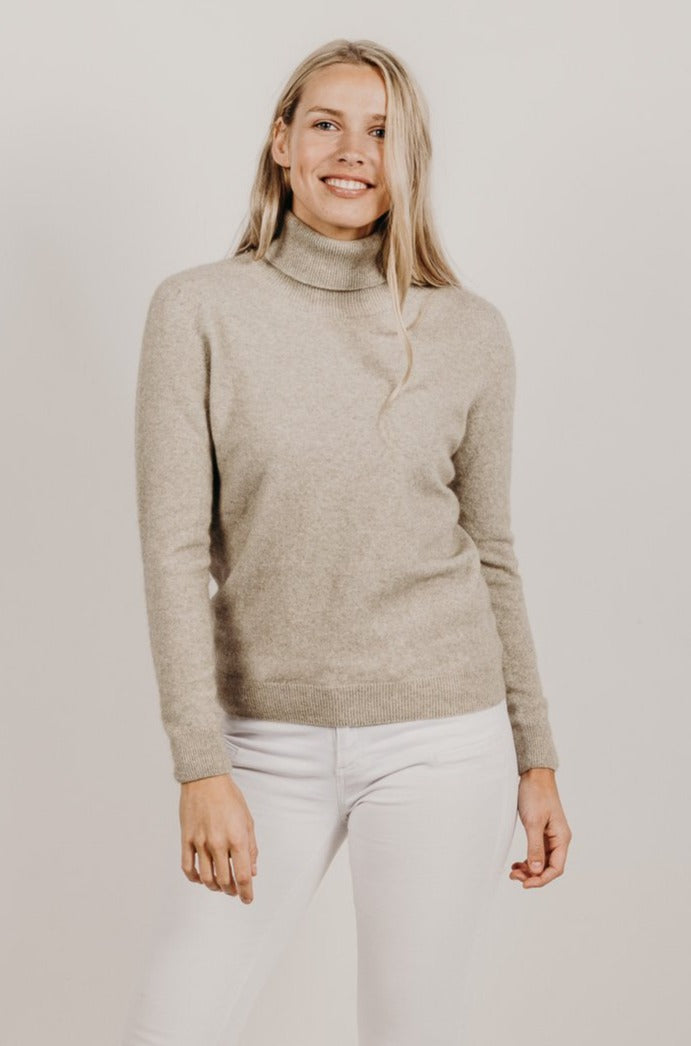 Cashmere Turtle Neck Sweater - Kapeka