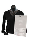 Women's Black Merino Thermal Top - Kapeka NZ