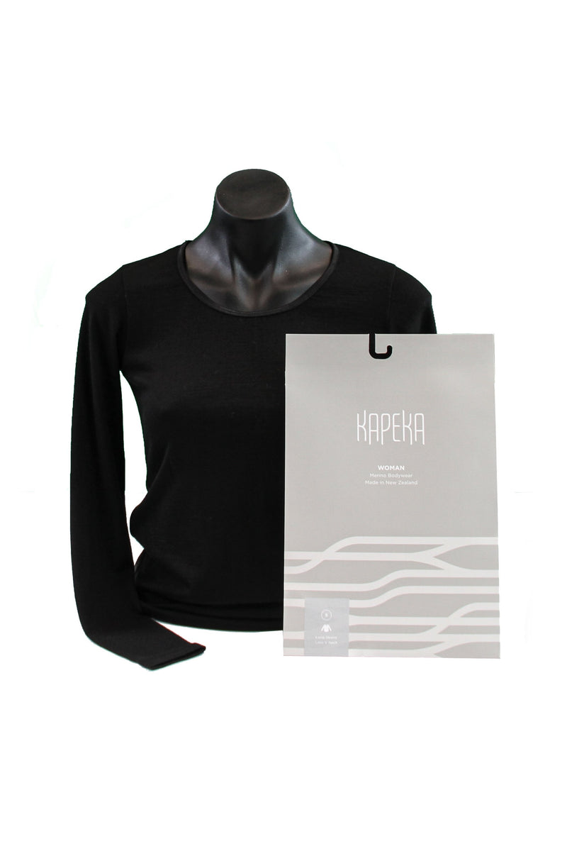 Women's Crew Neck (Long Sleeve) - Kapeka NZ