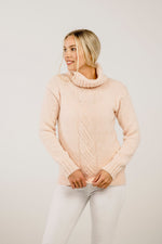 Alpaca Cable Tunic - Kapeka NZ