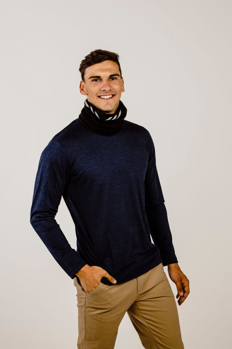 Everyday Merinosilk Neck Warmer - Kapeka NZ