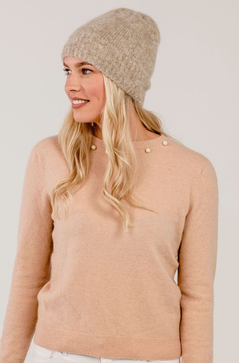 Alpaca Holiday Beanie - Kapeka NZ