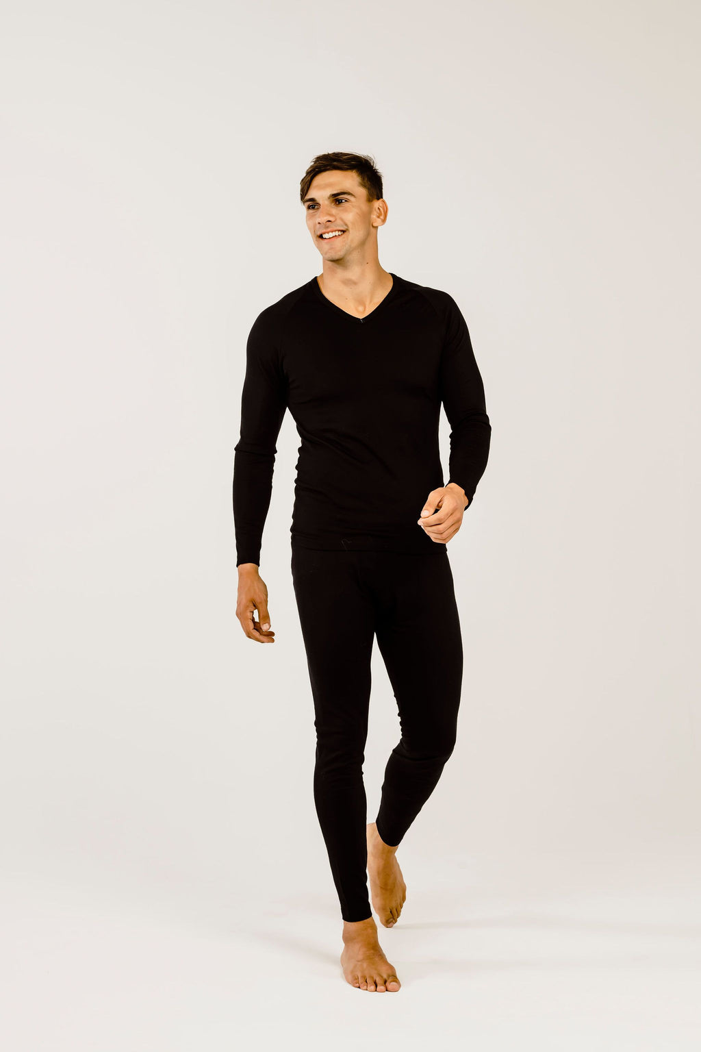 Mens Merino Wool Long John